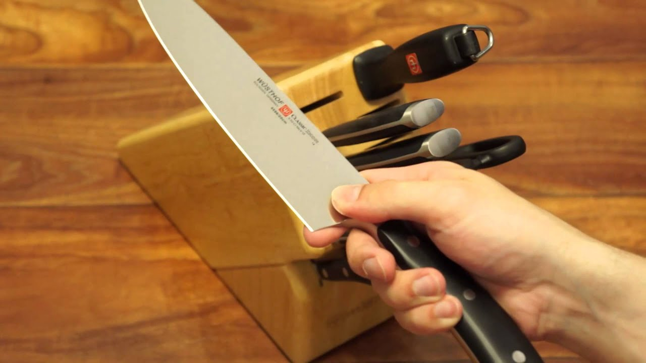 ... Knife Block Set Black Read. Wusthof Clic Ikon 12 Piece Set Набор ножей  Wusthof Clic Ikon You