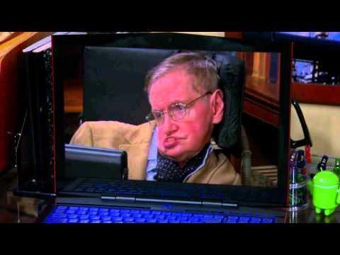 The Big Bang Theory - Stephen Hawking trolls Sheldon.