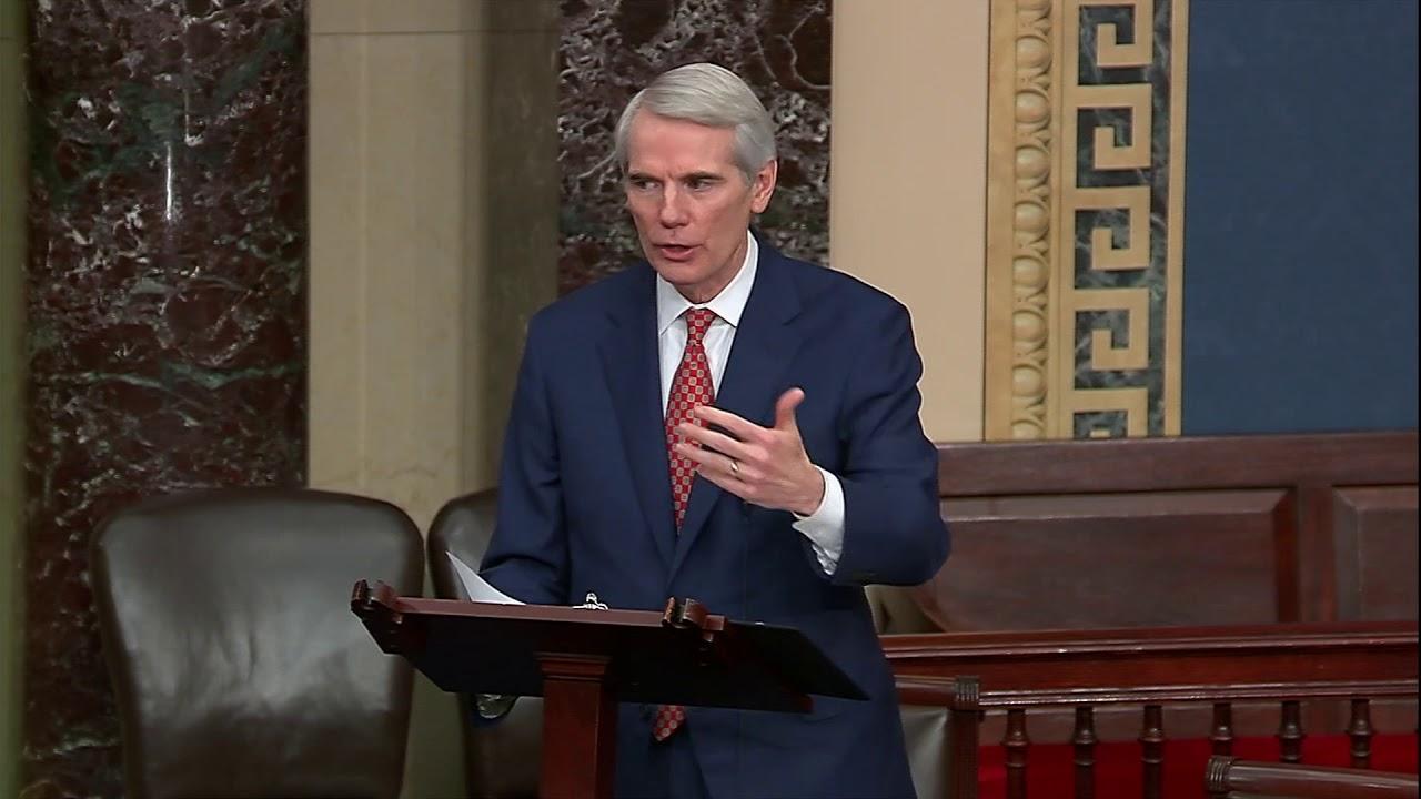 Portman on Senate Floor: I'm Voting Against the Articles of Impeachment |  Senator Rob Portman