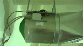 Установка промышленного увлажнителя воздуха Walter Meier UCV 52
