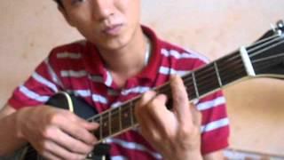 Hướng dẫn intro guitar nhỏ ơi chí tài  - vechaitiensinh