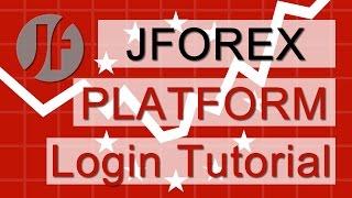 JForex | Forex Trading Platform | Login