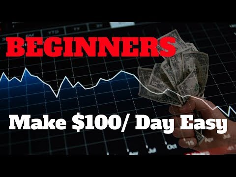 Simple Method To Make $100 A Day Trading Cryptocurrency As A