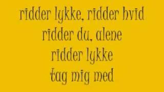 Ridder Lykke lyrics