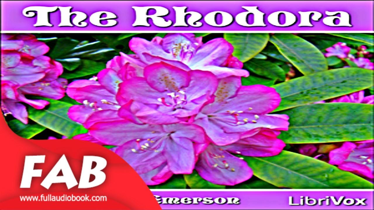 the rhodora by ralph waldo emerson