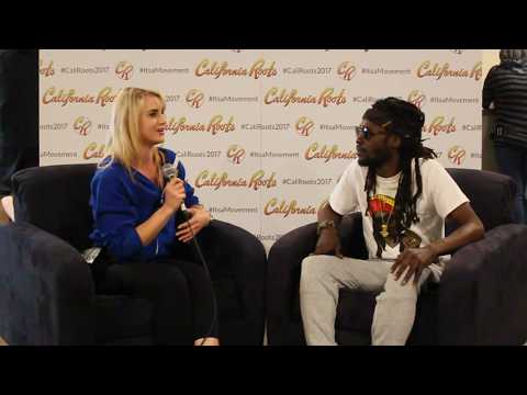 Jesse Royal chats with Top Shelf Reggae at Cali Roots 2017