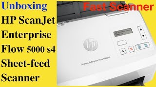 HP ScanJet Enterprise Flow 5000 s4 Sheet-feed Scanner, How to scan documents with 5000 s4