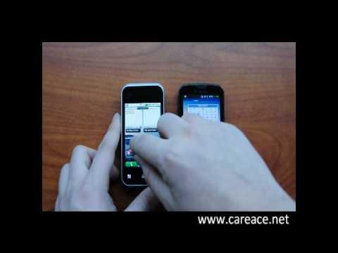 Motorola Backflip vs. Samsung Behold II