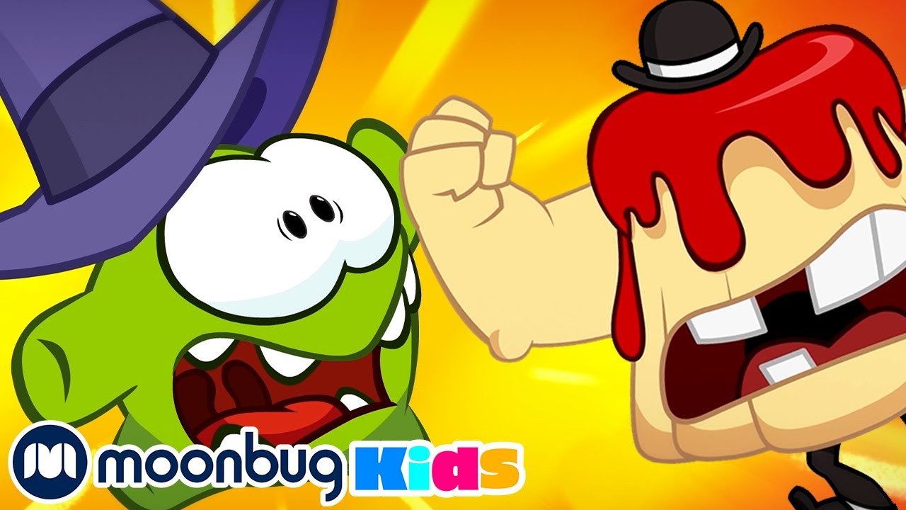 Om Nom Stories | Halloween Giant Jelly Monster! | Cut The Rope | Funny Cartoons for Kids & Babies
