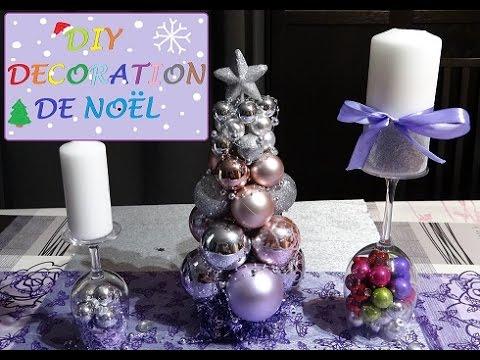 Diy noel christmas diy 4 id es de d coration rapide et - Youtube decoration de noel ...