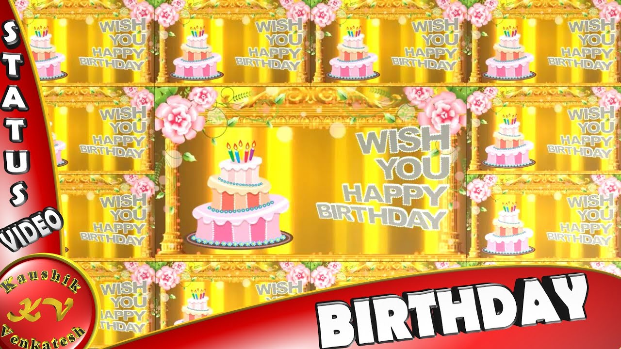 Birthday Wishes For A FriendHappy AnimationQuotesGreetingsImagesWhatsapp Video