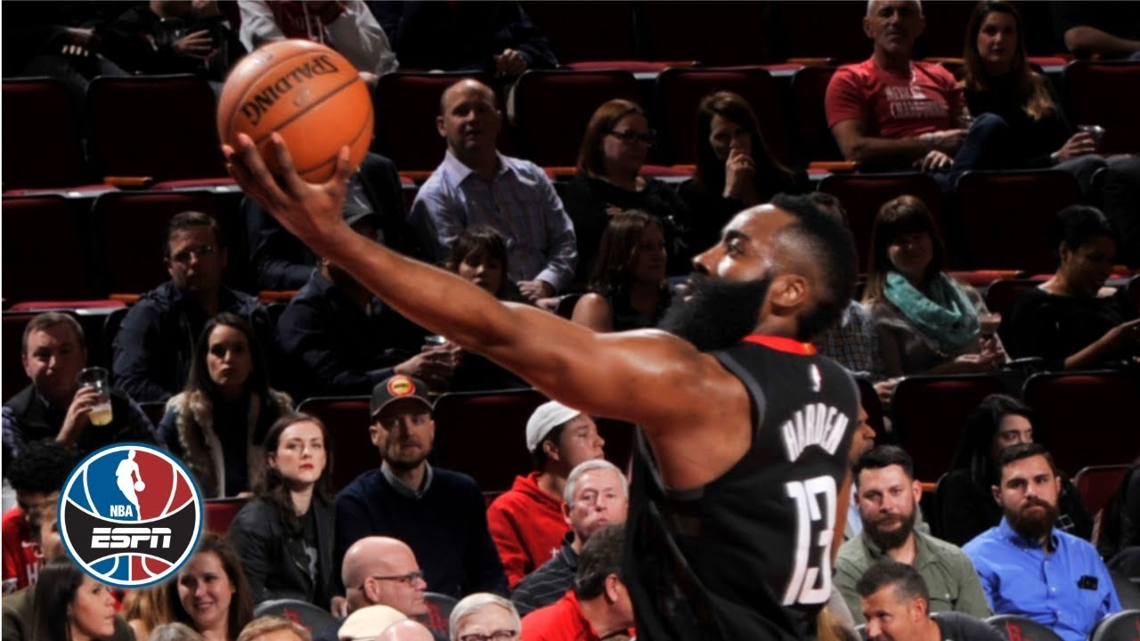 0f06371f8a6 James Harden drops 43-point triple-double as Rockets crush Cavs ...