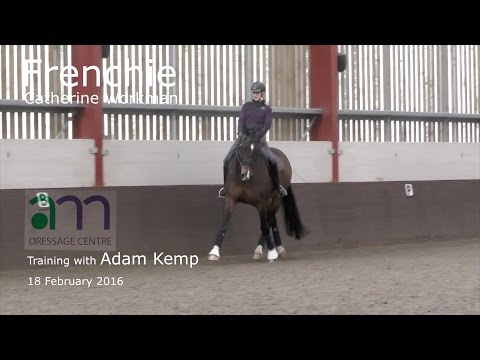 Dressage Training: Catherine Workman & Frenchie with Adam Kemp