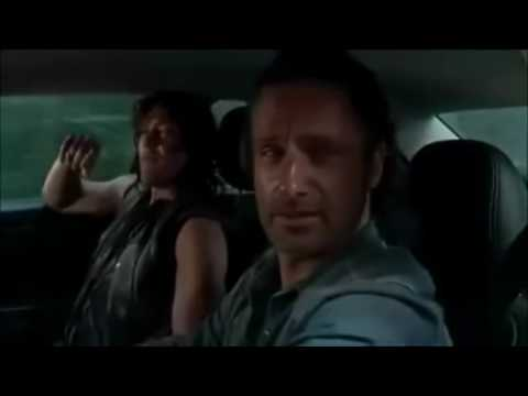 Daryl and Rick listening to easy street
