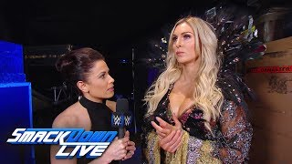 Charlotte Flair reacts to being chosen to face Ronda Rousey: SmackDown LIVE, Nov. 13, 2018
