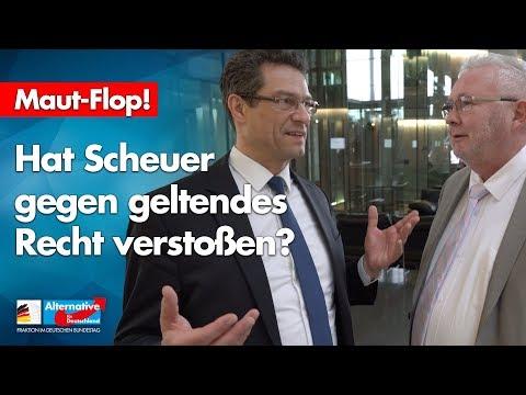 Maut-Flop: Hat Scheuer gegen geltendes Recht verstoßen? - Wolfgang Whiele und Andreas Mrosek