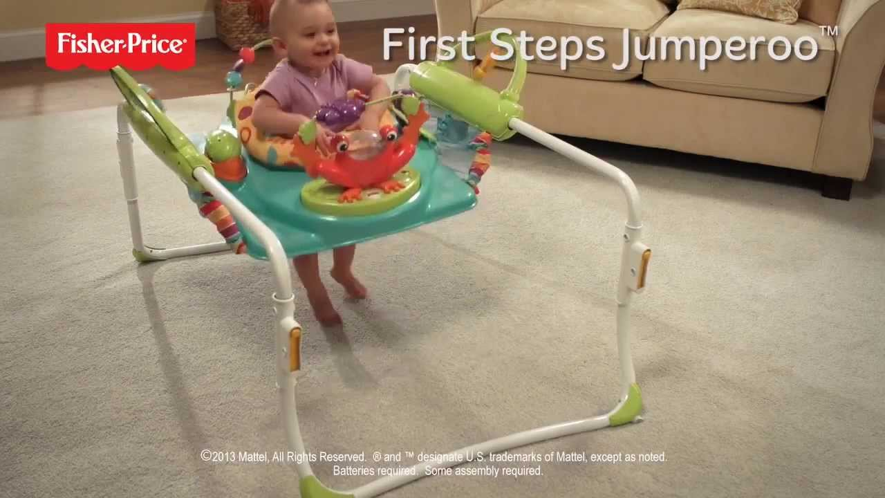 1714fdcf9a0c Step`n Play Jumperoo- Fisher Price -TV TOYS - YouTube