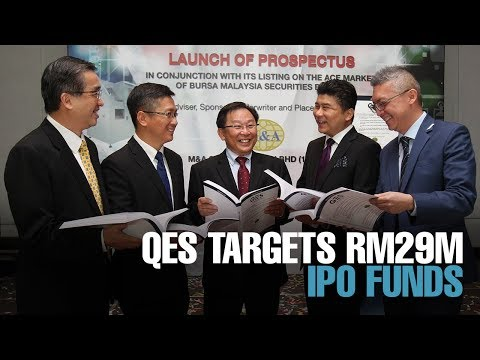 NEWS: ACE Market-bound QES targets RM28.82 mil IPO funds