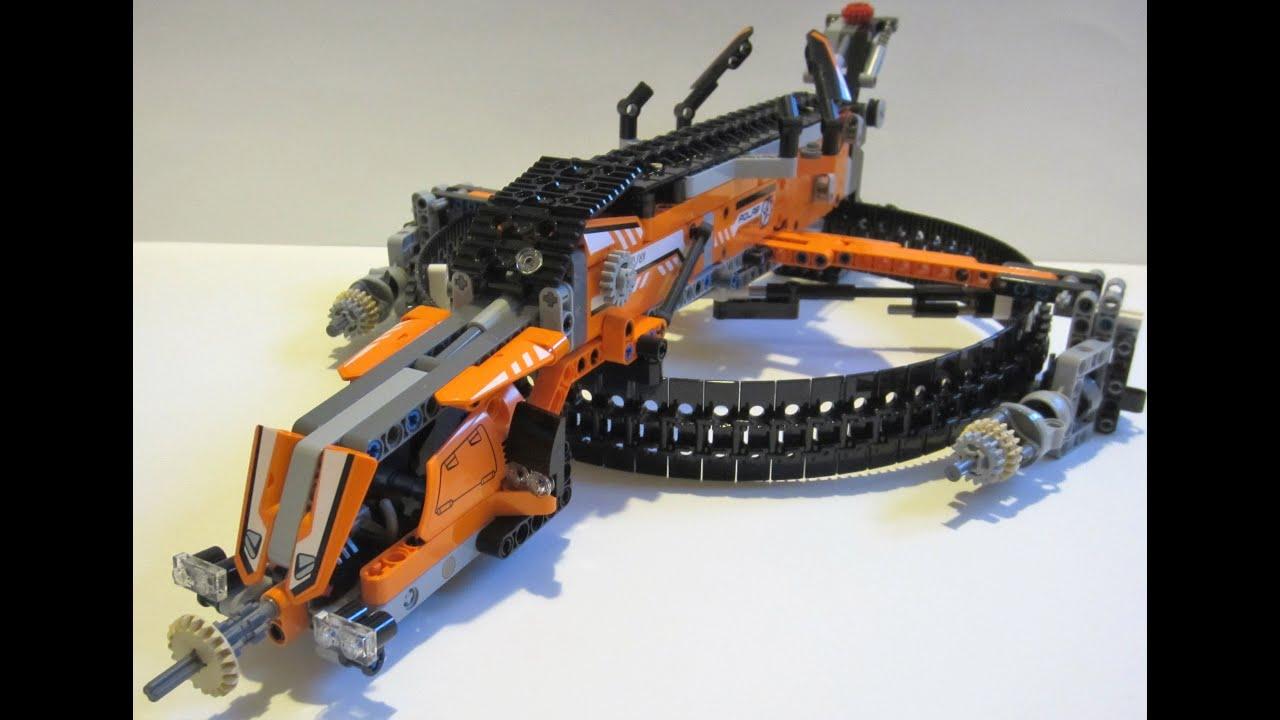 LEGO 42038 C-Model: Alien Dropship - YouTube