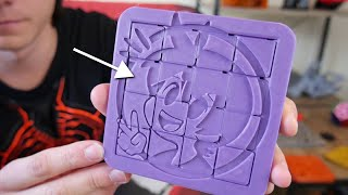 Huge 3D Printed Sliding Puzzle! Print in Place
