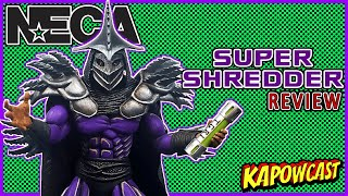 NECA TEENAGE MUTANT NINJA TURTLES SUPER SHREDDER REVIEW