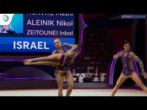 Women's group Israel - 2019 junior European Champions, all-around