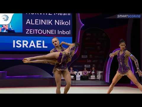 Women's Group Israel - 2019 Junior European Champions, All-around