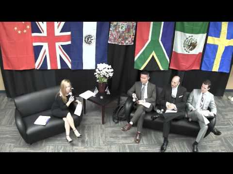 May 24, 2016 - Global Panel: Global Influence on Local Development