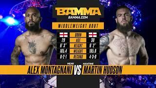 BAMMA London: Alex Montagnani vs Martin Hudson
