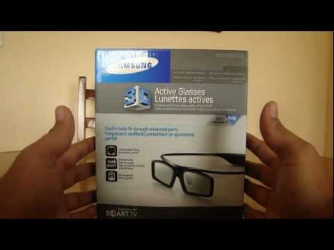 Lentes Samsung 3D SSG-3500CR - Unboxing Mini Review
