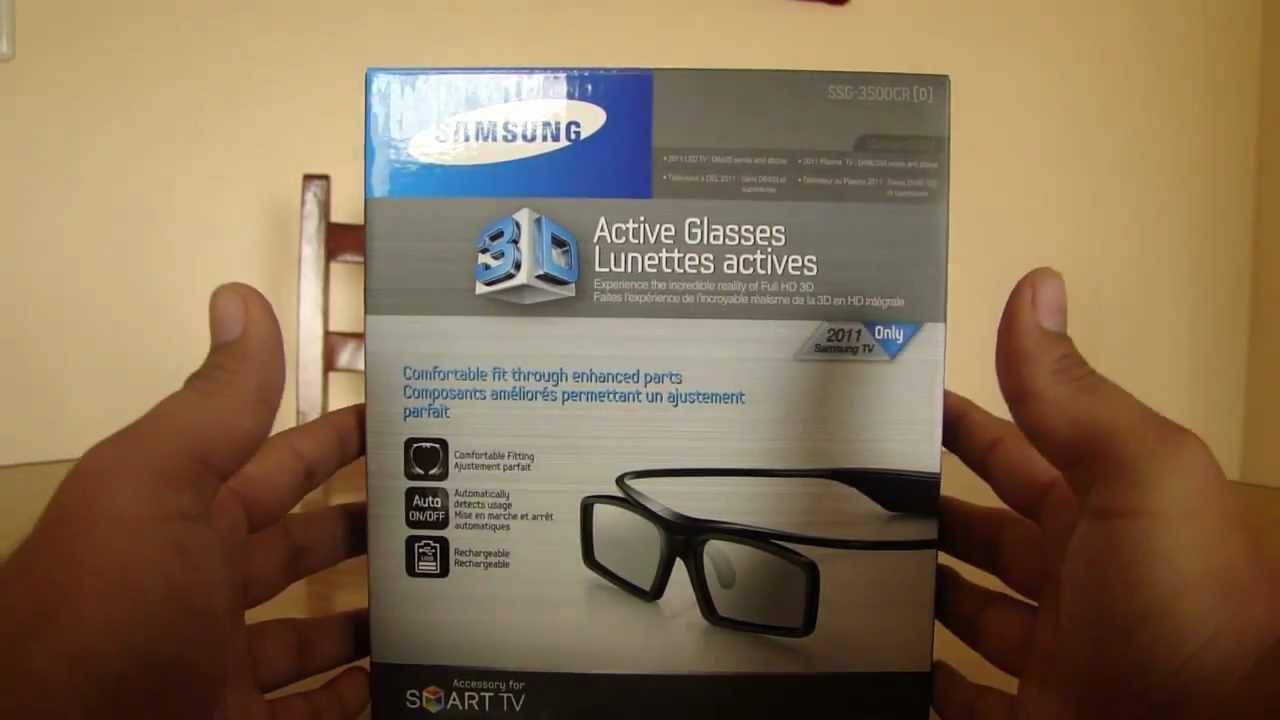 código promocional los más valorados estilo máximo Lentes Samsung 3D SSG-3500CR - Unboxing Mini Review