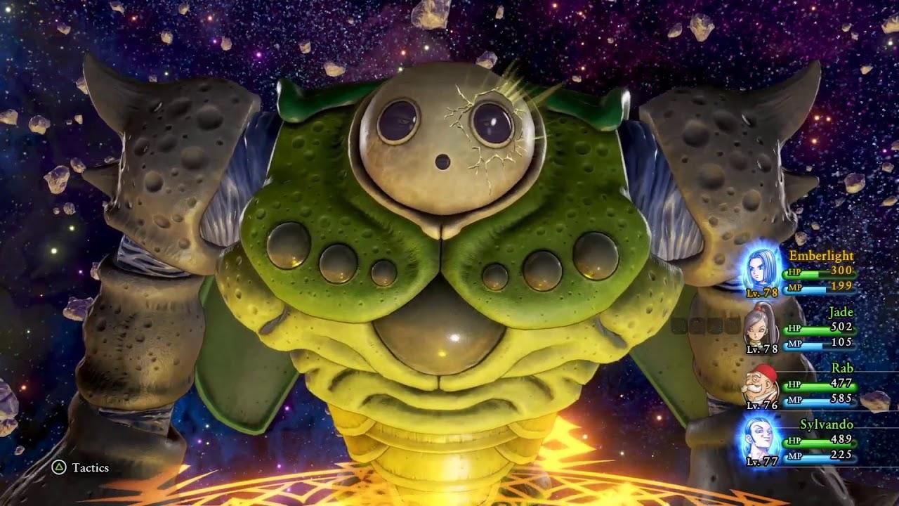 Dragon Quest XI: True ending and final boss Calasmos