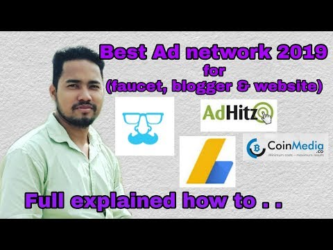 Best Ad Networks For Faucets, Blogger And Any Website . . [Earn In Bitcoins]