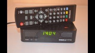 Romsat TR-1017HD DVB-T2 тюнер (ресівер) Т2 огляд та налаштування