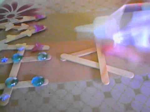 Como decorar tu cuarto letras de palitos de helado youtube for Como decorar una habitacion