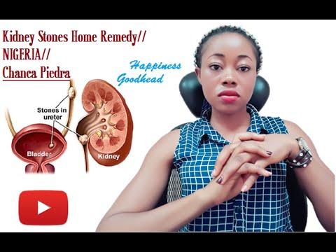 Kidney Stones Home Remedy// NIGERIA// Chanca Piedra