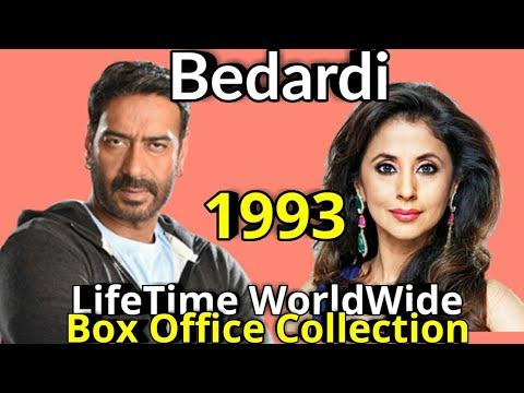 Ajay Devgan BEDARDI 1993 Bollywood Movie LifeTime WorldWide Box Office Collection Cast Rating