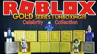 ROBLOX | Celebrity Collection | Series 1 GOLD Mystery Box UNBOXING!!!