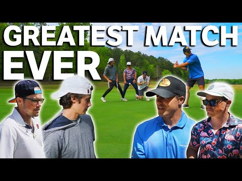 The Greatest Match Of GM GOLF History | 9 Holes | 2v2 Scramble
