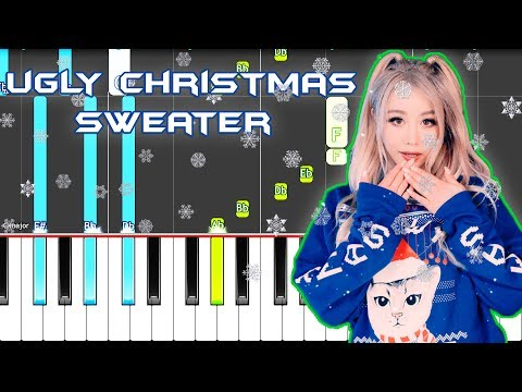 Wengie 'Ugly Christmas Sweater' Piano Tutorial EASY (Piano