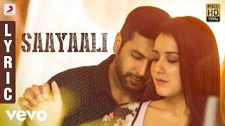 Adanga Maru Saayaali Lyric (Tamil) | Jayam Ravi, Raashi Khanna | Sam CS