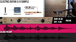 TIERRA Audio CALIMA Preamp | ELECTRIC GUITAR Samples