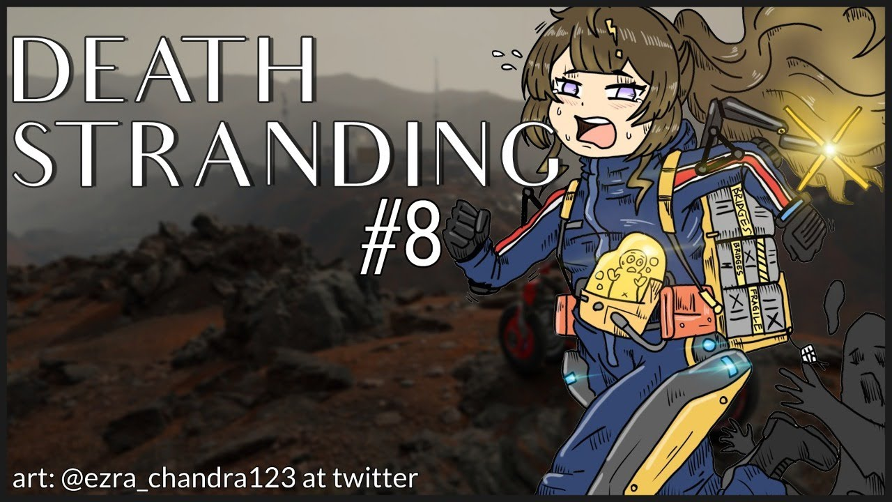 【DEATH STRANDING】I TOTALLY DID NOT FORGET TO FETCH MY BIKE LAST TIME【hololive ID 2nd Generation】