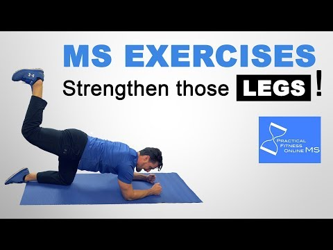 MS Exercises | Leg Exercises | Strengthen Legs With Multiple Sclerosis