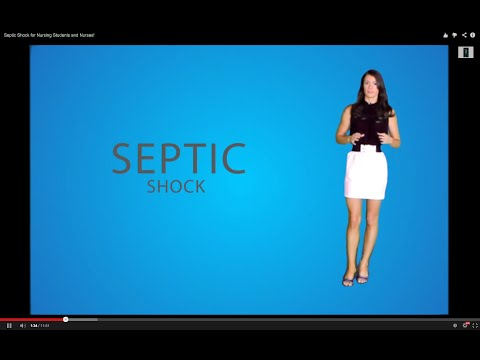Septic Shock for Nursing Students and Nurses!