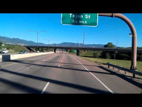 I-25 N @ Colorado Springs, CO