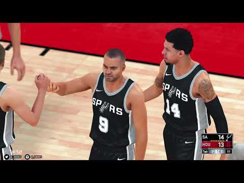 NBA 2K18 PC | Houston Rockets & San Antonio Spurs | 4K w/Mods | Asus 1080 Ti