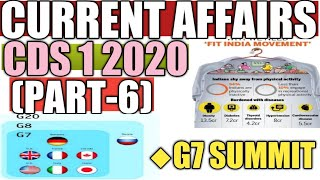 Cds 1 2020  current affairs  | part- 6 | CDS- 1 2020| defence current affairs 2020 | cds 1 2020|