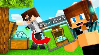 CÂMERA SECRETA DE ESPIONAGEM!! - Minecraft Espiões Vs Espiões #17