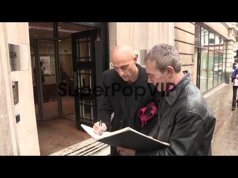 Mark Strong - Celebrity Video Sightings at BBC Radio Two ...